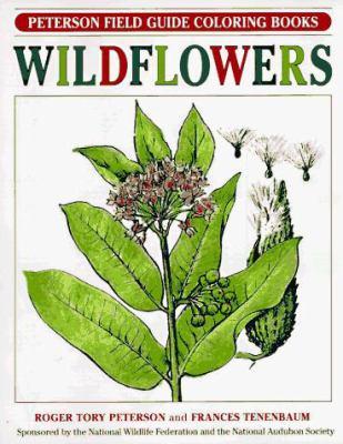 Pfg Coloring Bk Wildflowers 9780395325223