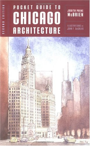 Pocket Guide to Chicago Architecture 9780393731552