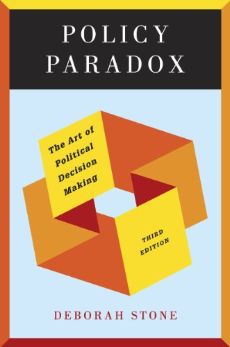 Policy Paradox: The Art of Political Decision Making 9780393912722