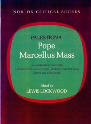 Pope Marcellus Mass 9780393092424