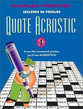 Quote Acrostic 4 9780399527920