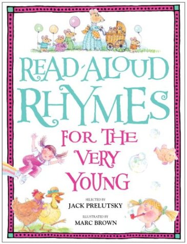 Read-Aloud Rhymes for the Very Young 9780394872186
