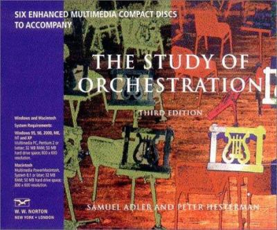 For the Study of Orchestration 9780393102833