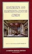 Restoration and Eighteenth-Century Comedy 9780393963342