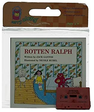 Rotten Ralph Book & Cassette [With Book] 9780395488737
