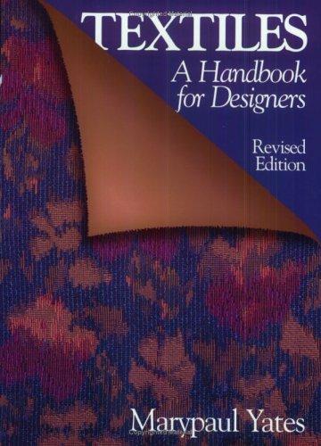 Textiles: A Handbook for Designers 9780393730036