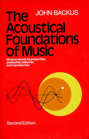 The Acoustical Foundations of Music 9780393090963