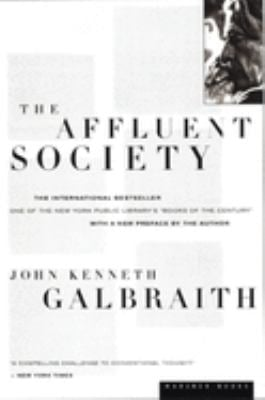 The Affluent Society 9780395925003