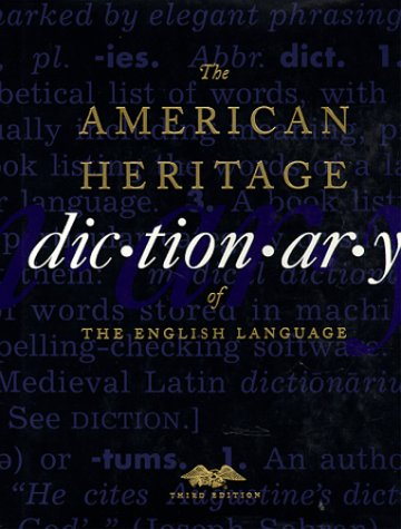 The American Heritage Dictionary of the English Language 9780395448953