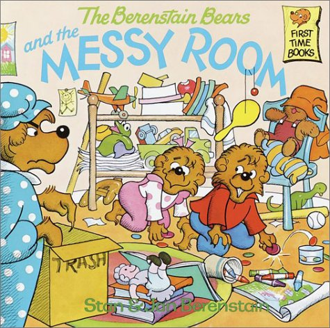 The Berenstain Bears and the Messy Room 9780394856391