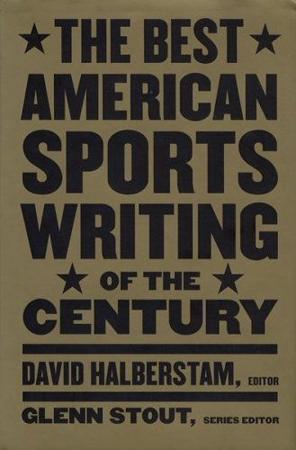 The Best American Sports Writing of the Century 9780395945131
