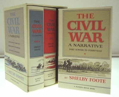 The Civil War, 3-Volume Box Set 9780394495170