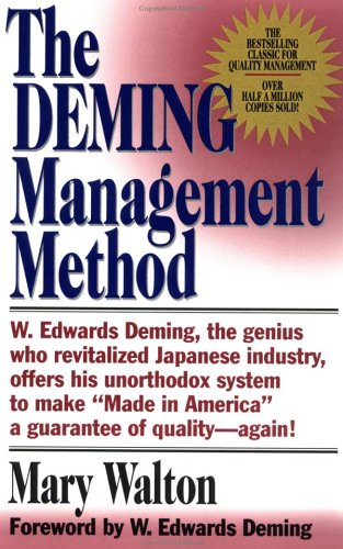 The Deming Management Method 9780399550003