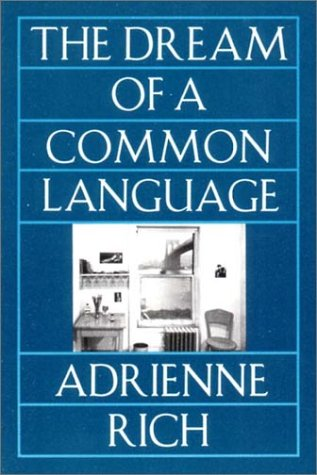 The Dream of a Common Language: Poems 1974-1977 9780393310337