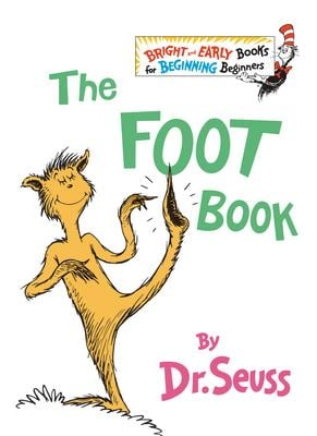 The Foot Book 9780394809373