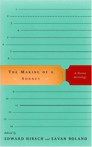The Making of a Sonnet 9780393333534