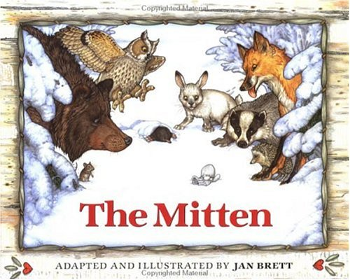 The Mitten: A Ukrainian Folktale 9780399219207