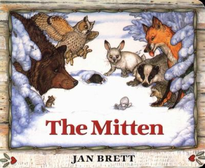 The Mitten: A Ukrainian Folktale 9780399231094