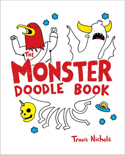 The Monster Doodle Book 9780399536755