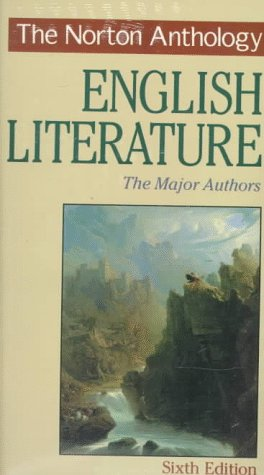 The Norton Anthology of English Literature 9780393968088
