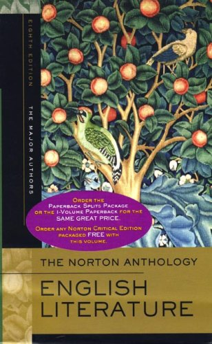 The Norton Anthology of English Literature: The Major Authors 2 Volume Set 9780393928327
