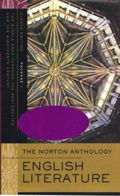 The Norton Anthology of English Literature 9780393928334