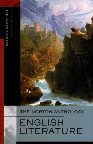 The Norton Anthology of English Literature, the Major Authors 9780393928280