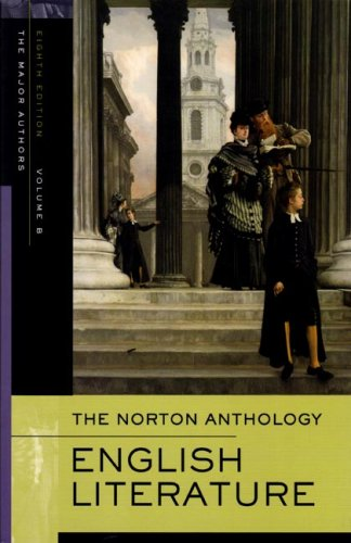 The Norton Anthology of English Literature, the Major Authors 9780393928310