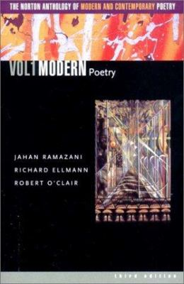 The Norton Anthology of Modern and Contemporary Poetry 9780393977912