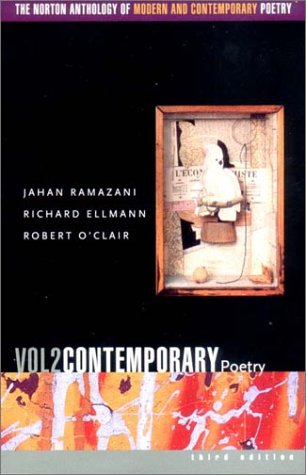 The Norton Anthology of Modern and Contemporary Poetry 9780393977929