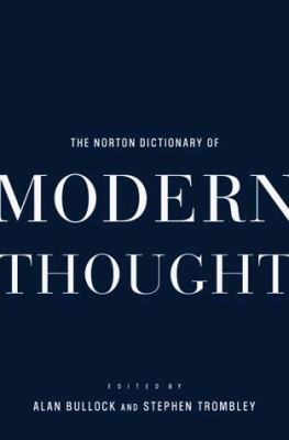 The Norton Dictionary of Modern Thought 9780393046960
