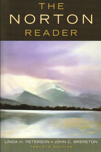 The Norton Reader: An Anthology of Nonfiction 9780393929485