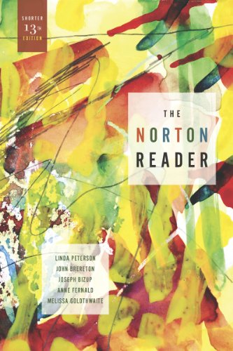 The Norton Reader: An Anthology of Nonfiction 9780393912197