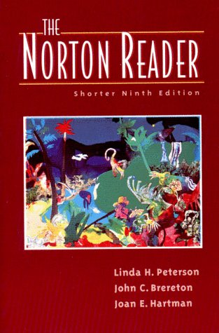 norton reader education Intelligence is closely associated with formal education—the type of  level,  more reading occurs in the blue-collar workplace than is generally.