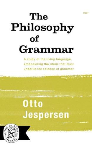 The Philosophy of Grammar 9780393003079