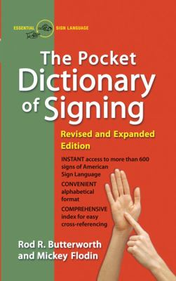 The Pocket Dictionary of Signing 9780399517433