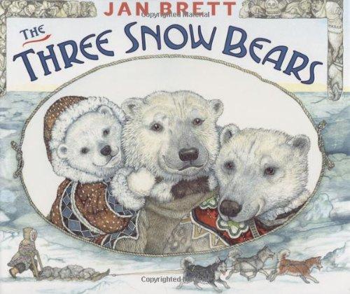The Three Snow Bears 9780399247927