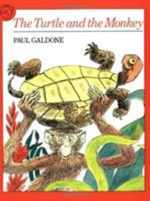 The Turtle and the Monkey 9780395544259