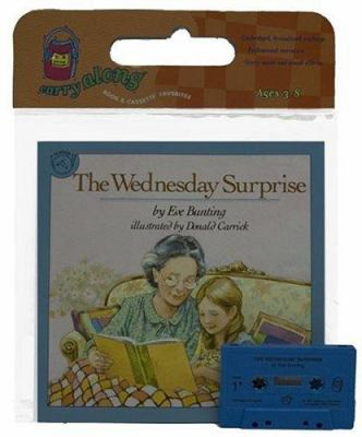 The Wednesday Surprise Book & Cassette [With Book] 9780395586990