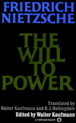 The Will to Power 9780394704371