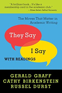 They say i say the moves that matter in academic writing ebook
