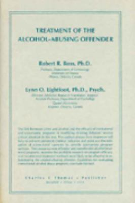 Treatment of the Alcohol-Abusing Offender 9780398050900