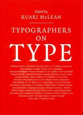 Typographers on Type