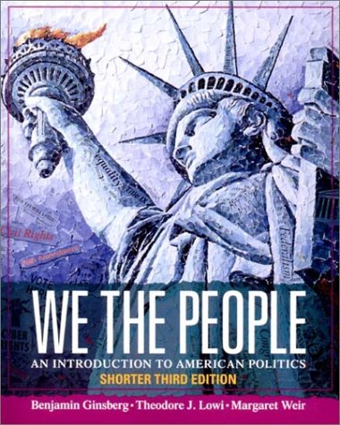 We the People: Shorter 9780393976298