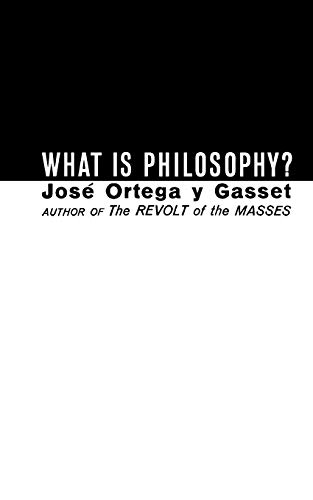 What Is Philosophy? 9780393001266