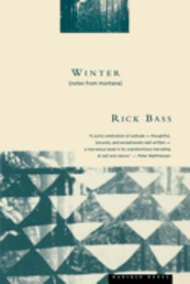 Winter: Notes from Montana 9780395611500