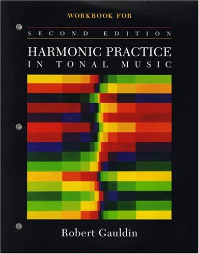 Workbook for Harmonic Practice in Tonal Music 9780393976670