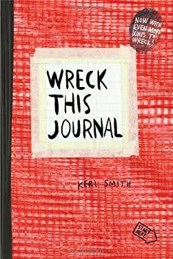 Wreck This Journal (Red) 9780399162725