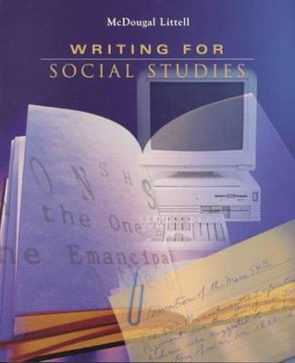 Writing for Social Studies 9780395869093