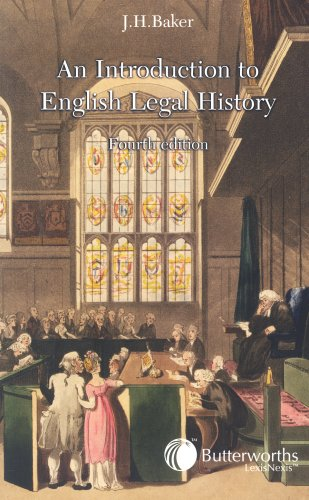 An Introduction to English Legal History - 4th Edition